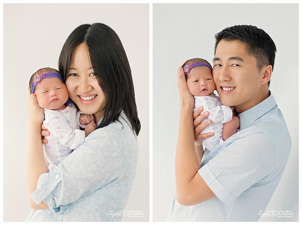 family and newborn portrait photo