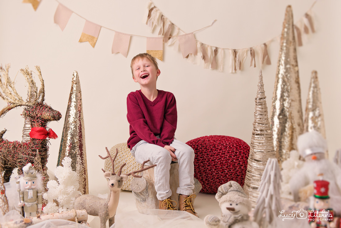 photo studio Christmas mini sessions