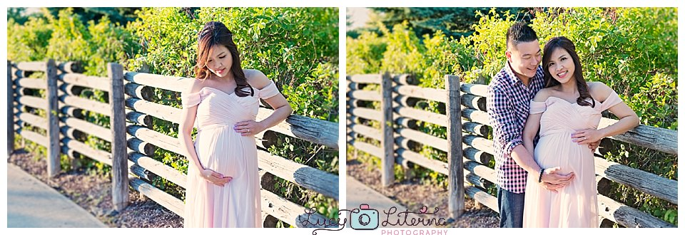 outdoors maternity photos toronto