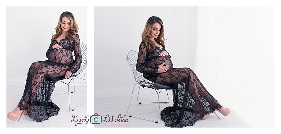 boudoir maternity photography