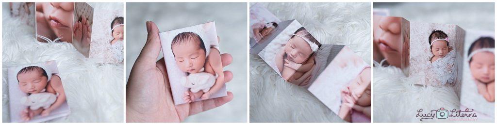 Photo album for newborn pictures