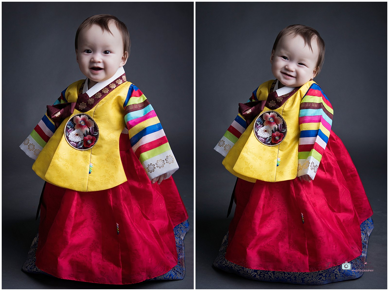 baby photography studio asian style