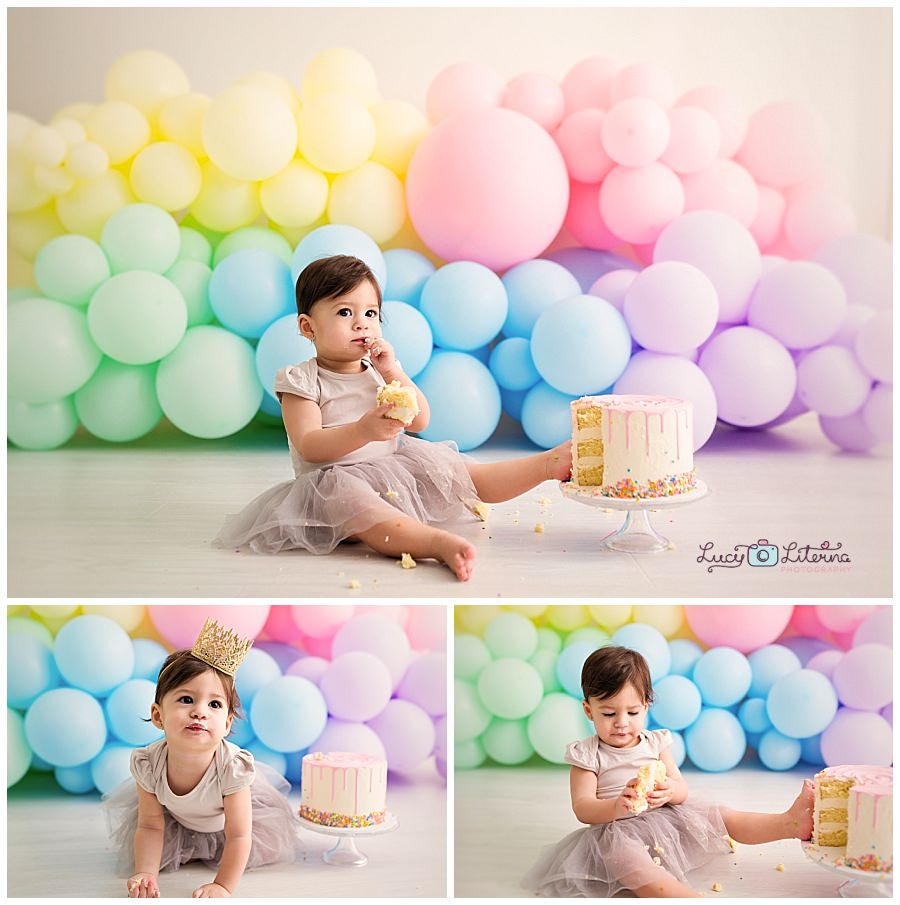 Outstanding Cake Smash Photo Session In The Studio Birthday Cards Printable Giouspongecafe Filternl