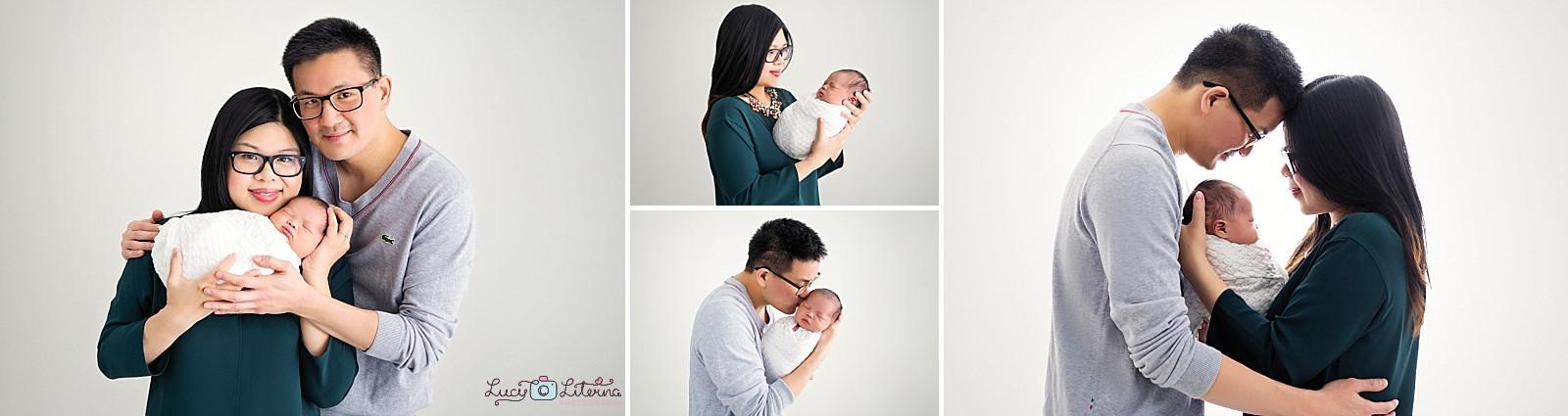 newborn baby photographer studio